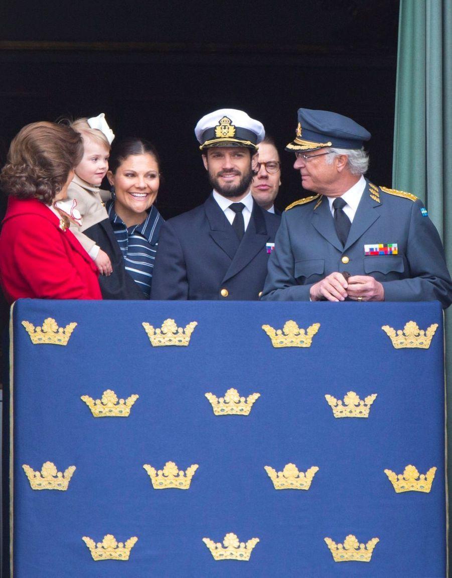 Les 68 ans du roi Carl Gustaf, le 30 avril 2014