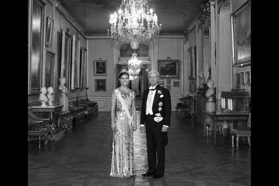 Père et fille au palais, 2014