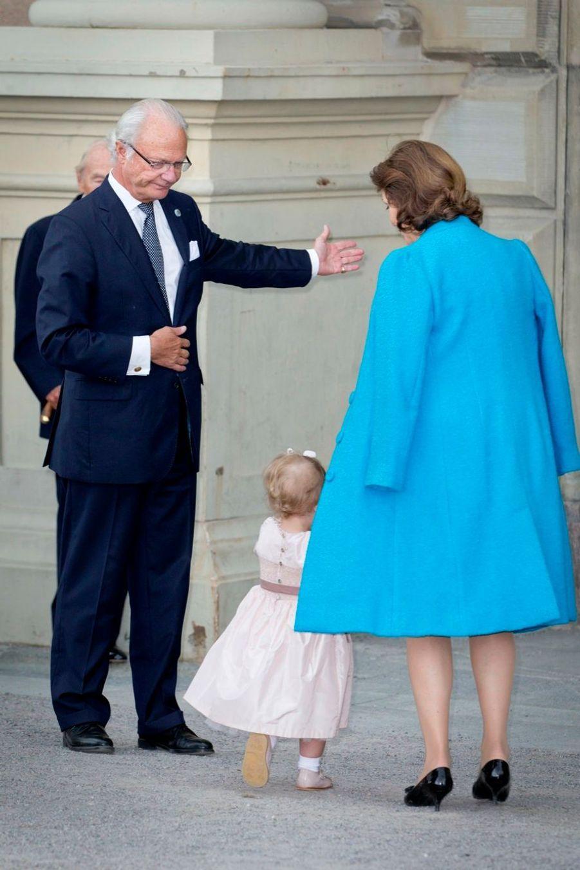Pour le jubilé des 40 ans de règne de Carl Gustaf, le 15 septembre 2013