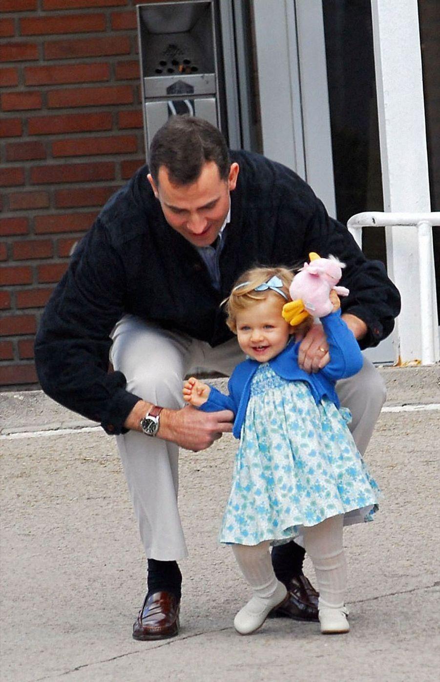Après l'annonce de la naissance de Sofia, le 29 avril 2007