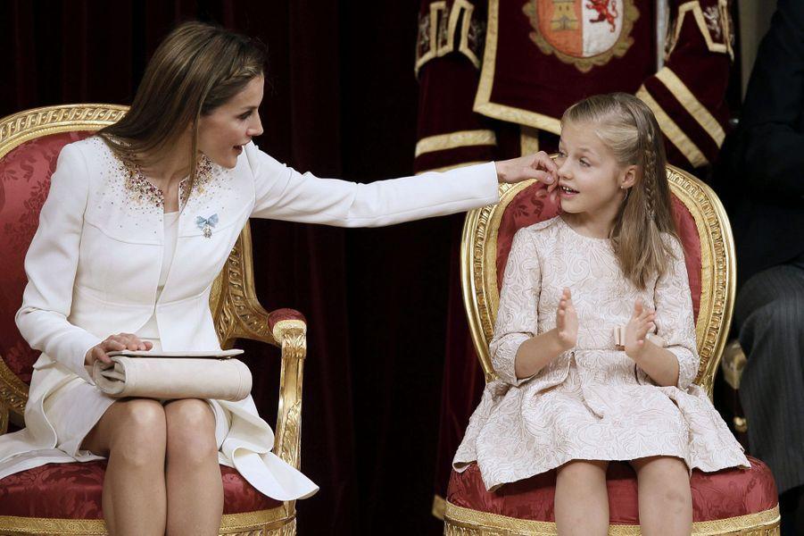 Prestation de serment du nouveau roi Felipe VI, le 19 juin 2014