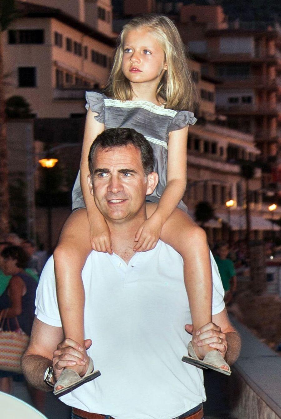 Vacances à Majorque, en août 2012