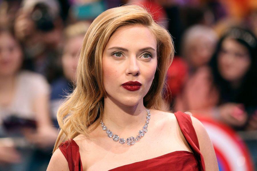 Scarlett entre directement à la septième place de ce classement grâce au triomphe d'«Avengers». Elle devrait continuer à grimper les marches l'année prochaine au regard des succès de «Captain America» et de «Lucy» de Luc Besson.