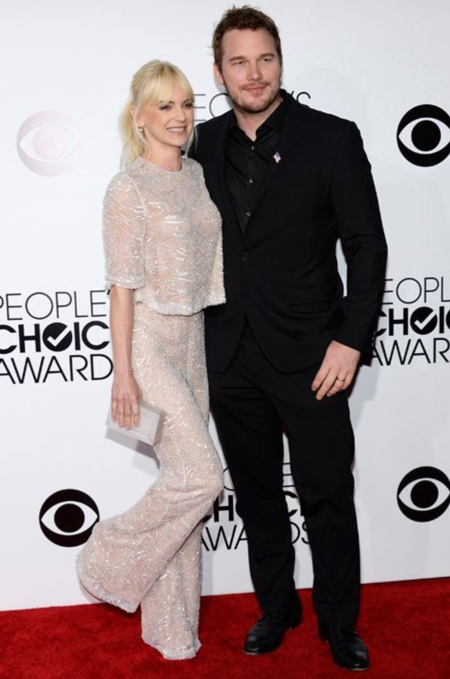 Anna Faris et Chris Pratt