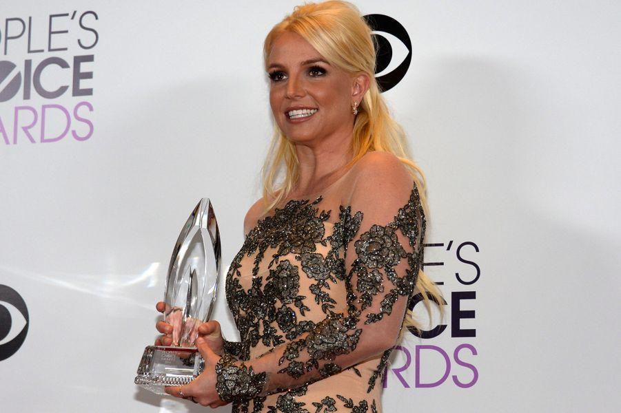 Britney Spears, meilleure artiste pop