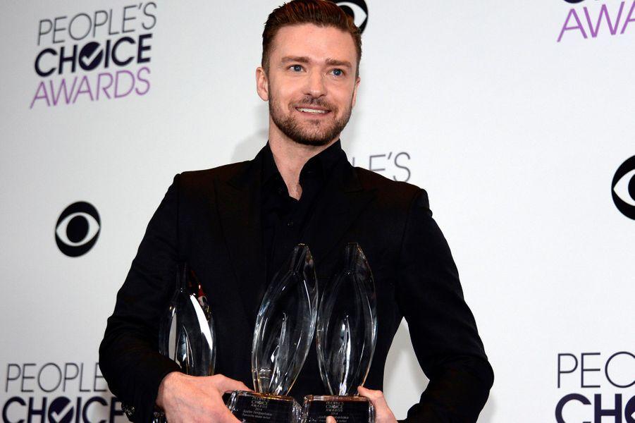 Justin Timberlake, triplement récompensé