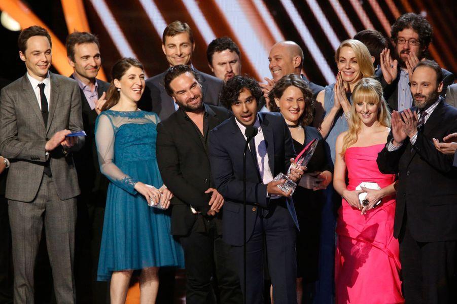 "L'équipe de ""The Big Bang Theory"""
