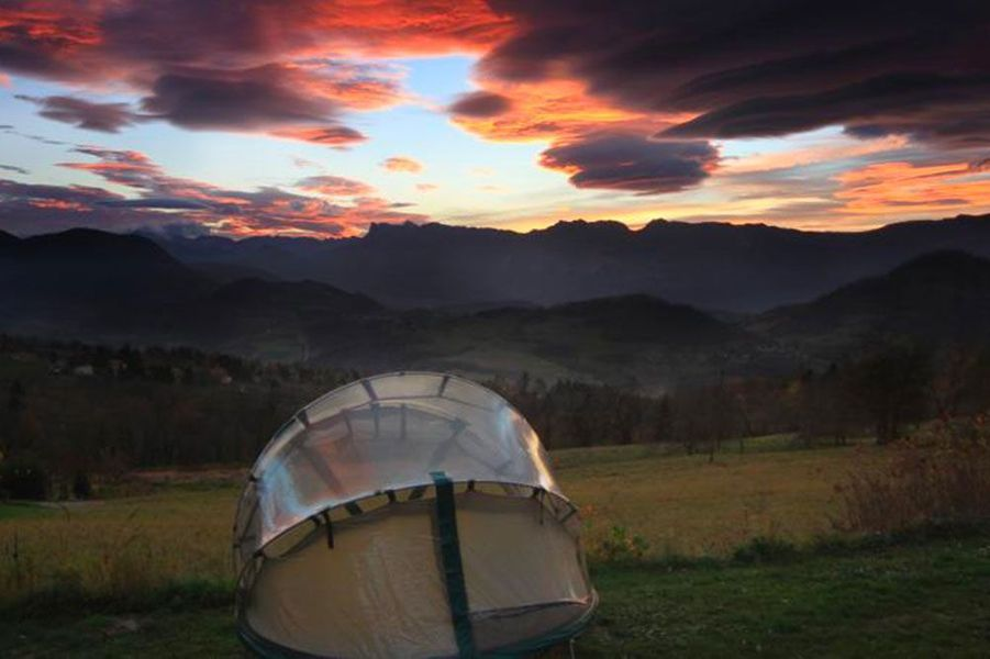 Camping du Buisson, Saint-Martin-d'Uriage (Isère)