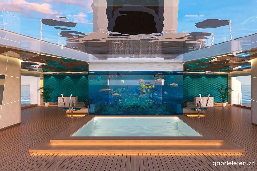 Aquarium sur le pont