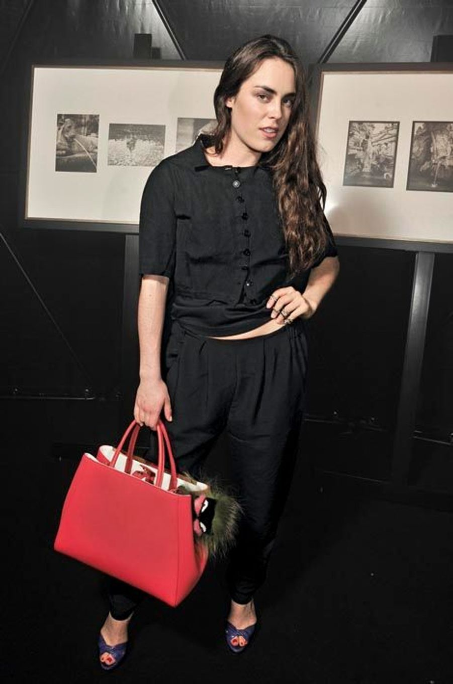 Tallulah Harlech, top model et actrice anglaise