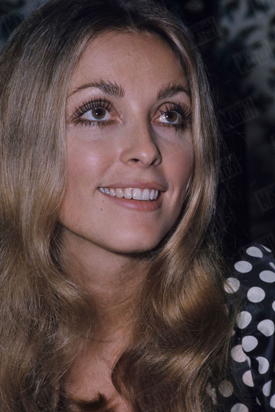 Sharon Tate à Paris, en octobre 1968.