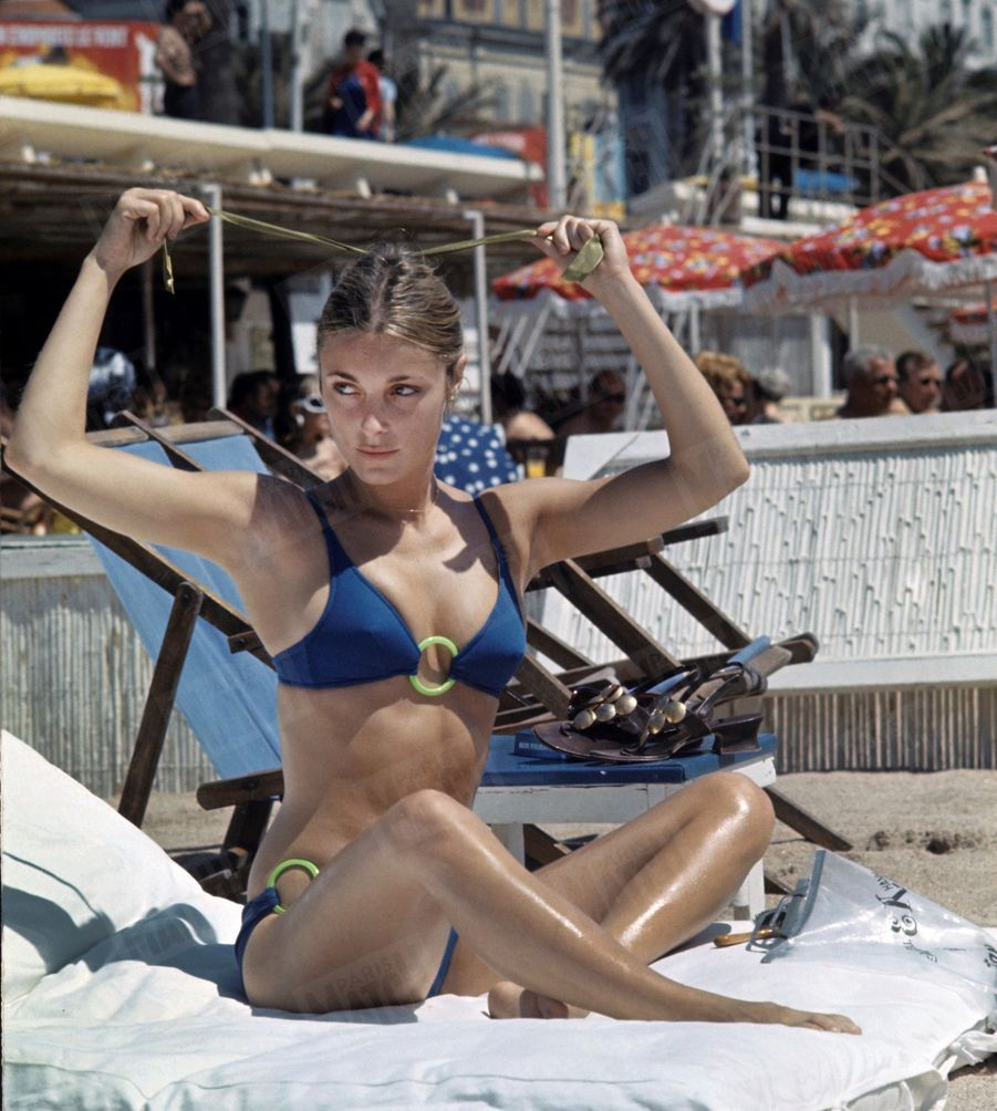 Sharon Tate au 21ème Festival de Cannes en mai 1968.