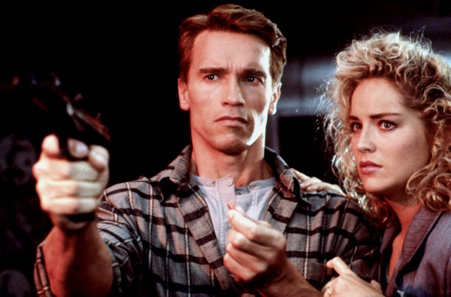 « Total Recall » de Paul Verhoeven, avec Arnold Schwarzenegger et Sharon Stone (1990).
