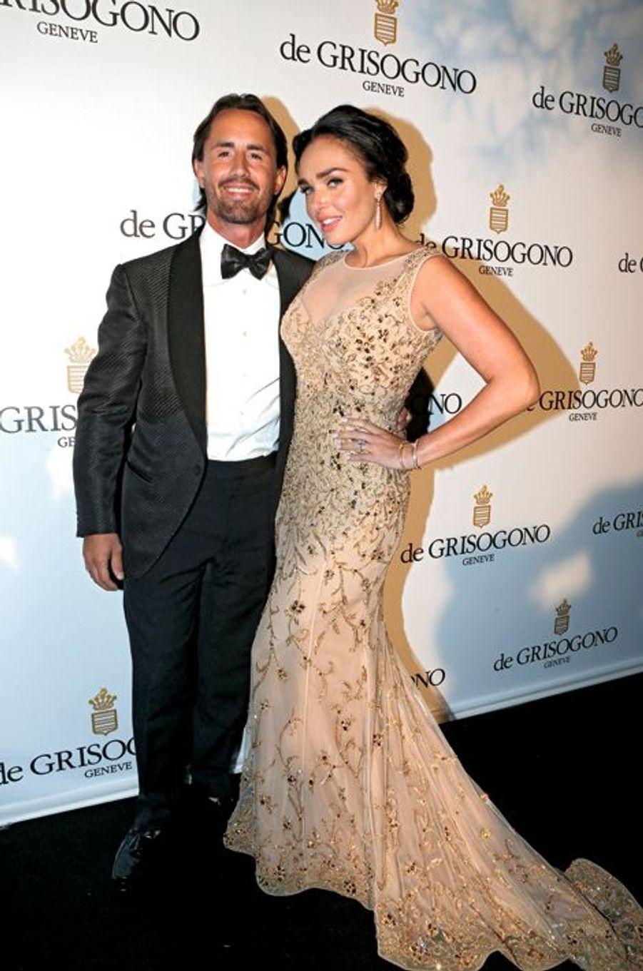 Jay Rutland et sa fiancée Tamara Ecclestone