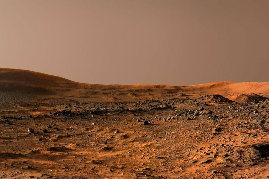 Après-midi sur Mars