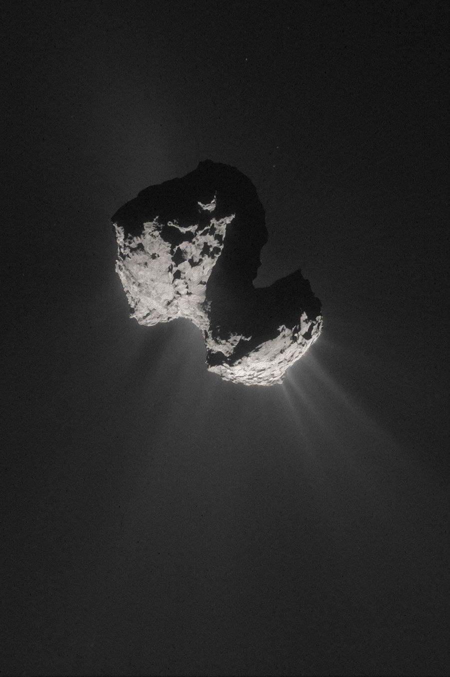 La comète 67P/Churyumov-Gerasimenko (Tchouri)