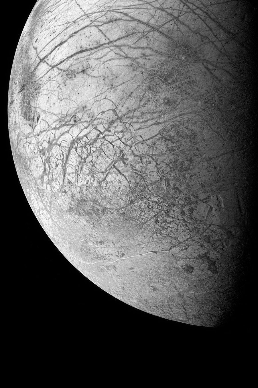 La Lune de Jupiter, Europa