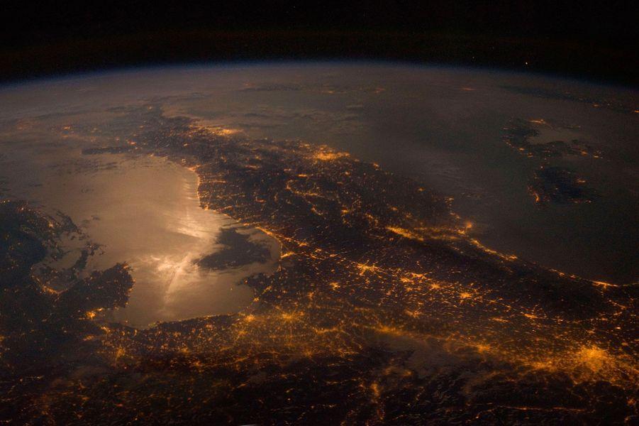Nuit sur l'Europe