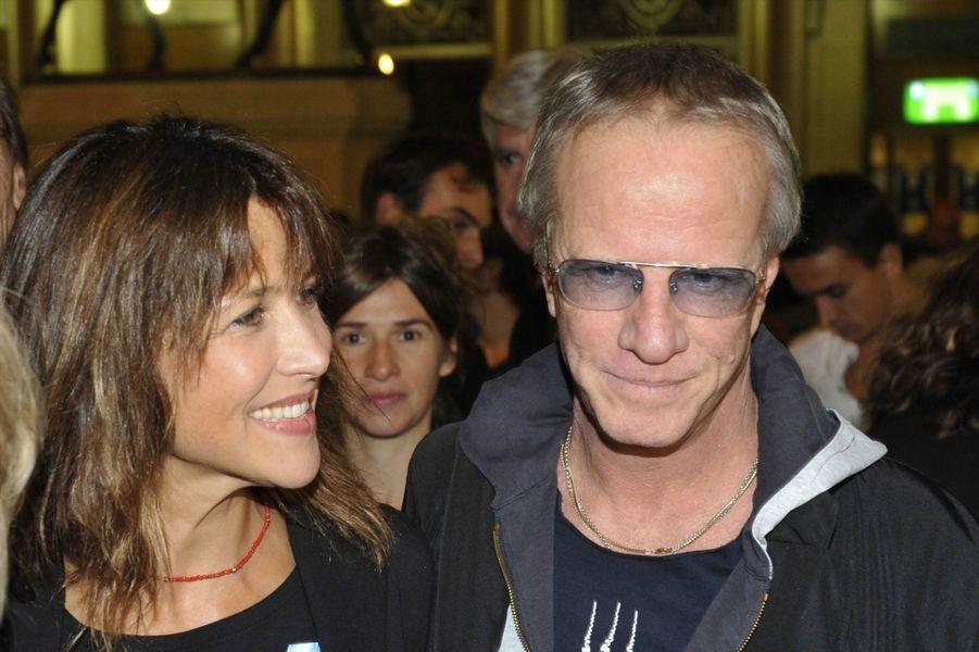 Sophie Marceau et Christophe Lambert en 2012