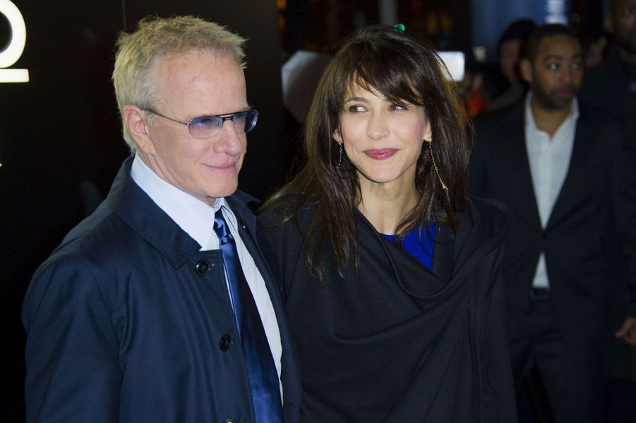 Sophie Marceau et Christophe Lambert en 2014