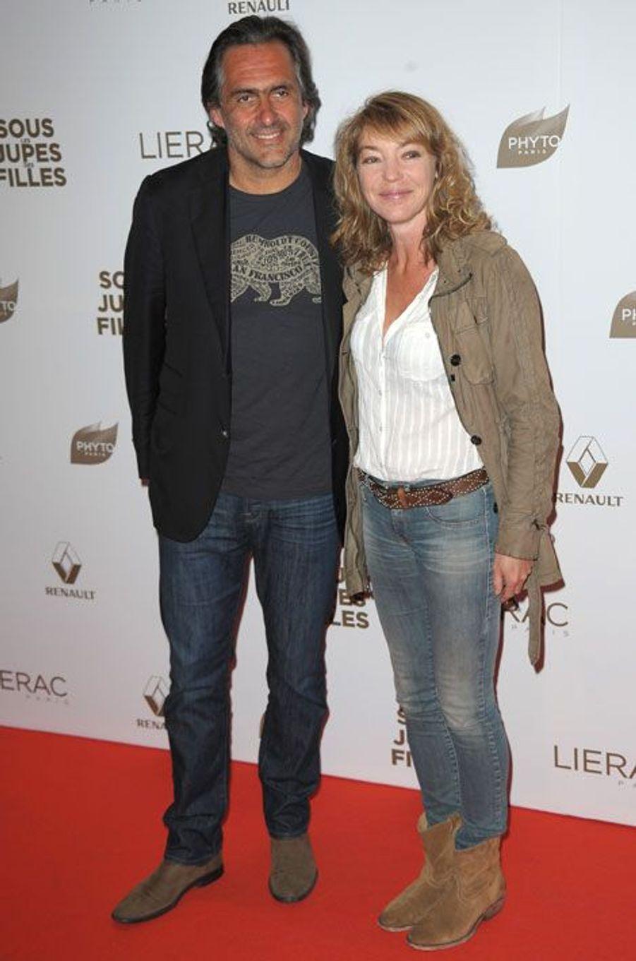 Emmanuel Chain et sa femme