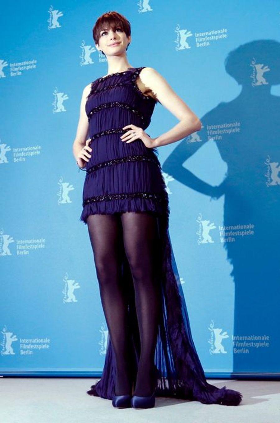 Anne Hathaway au 63ème Festival international du film de Berlin en 2013