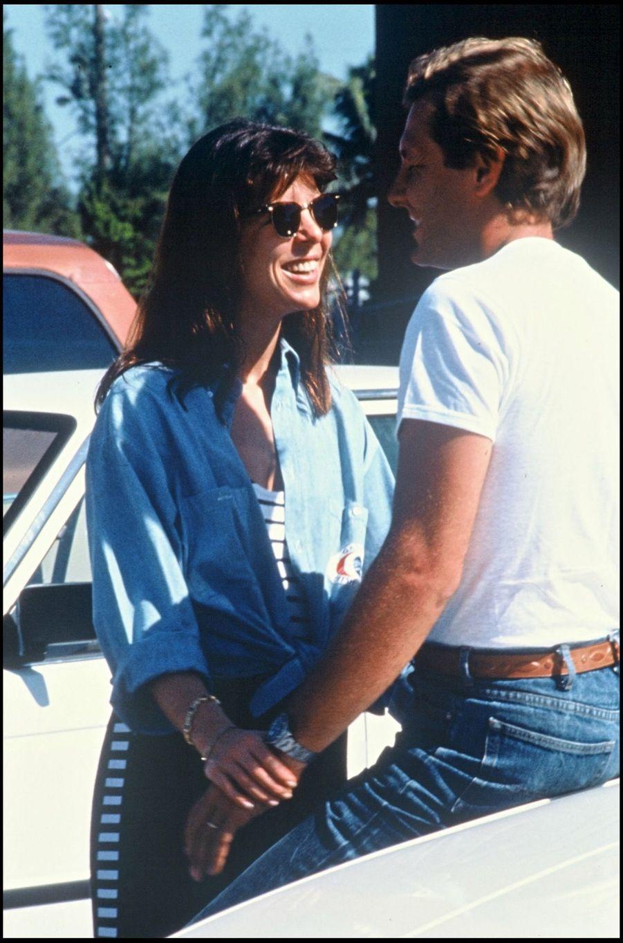 Caroline de Monaco et Stefano Casiraghi, 14 novembre 1988.