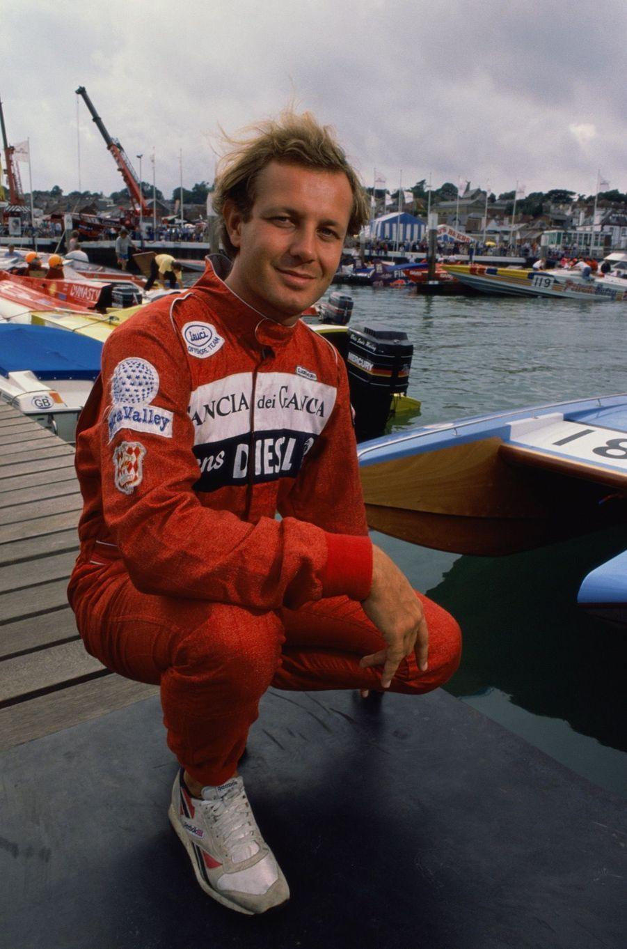 Stefano Casiraghi en 1989.