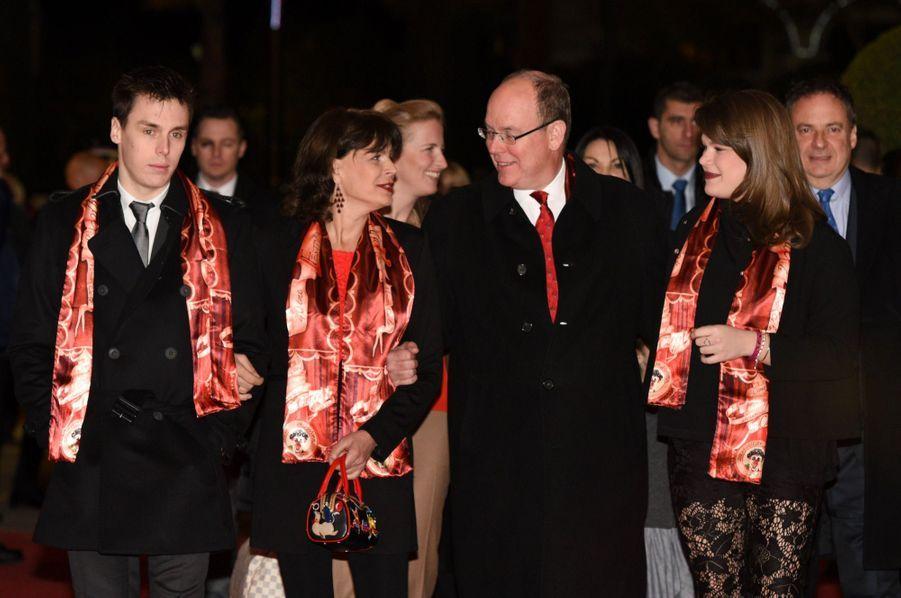 La famille princière passe le week-end au cirque