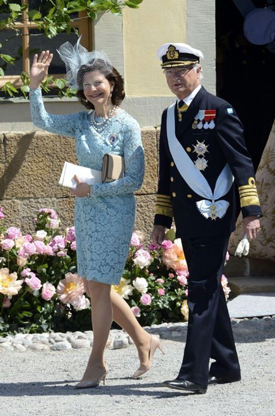 La reine Silvia et le roi Carl XVI Gustaf