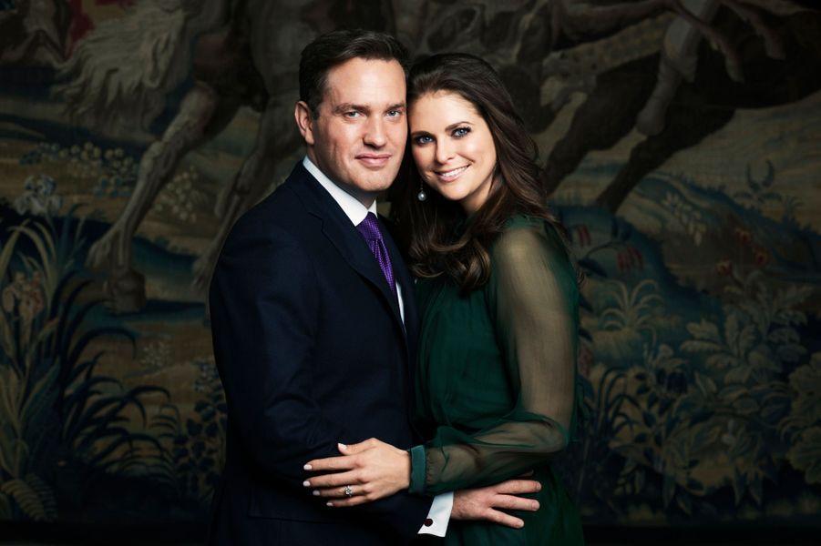 Photo officielle des fiançailles