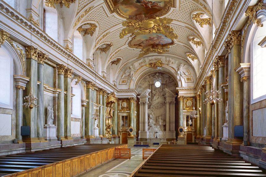 La chapelle royale où aura lieu le mariage