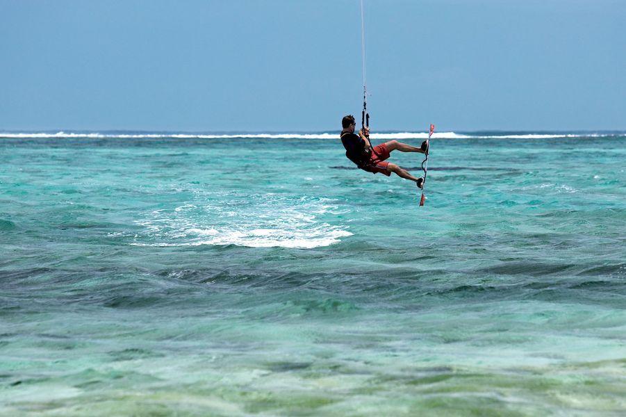 Kitesurf à l'île Maurice