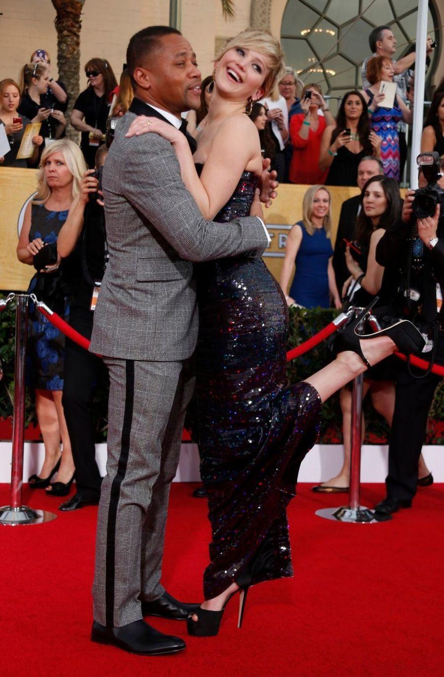 Cuba Gooding Jr. et Jennifer Lawrence