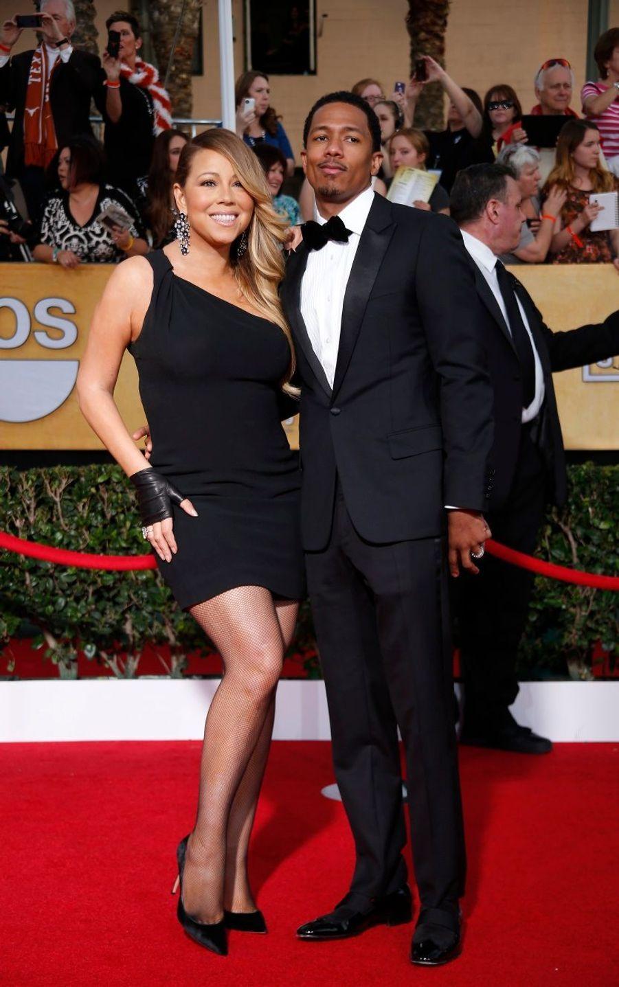 Mariah Carey et son époux Nick Cannon