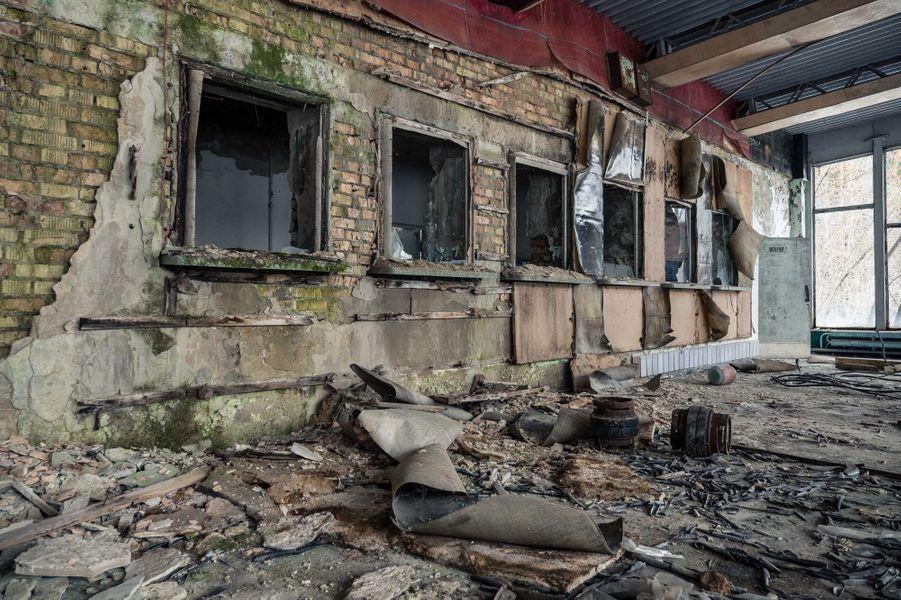 Tchernobyl, ville fantôme