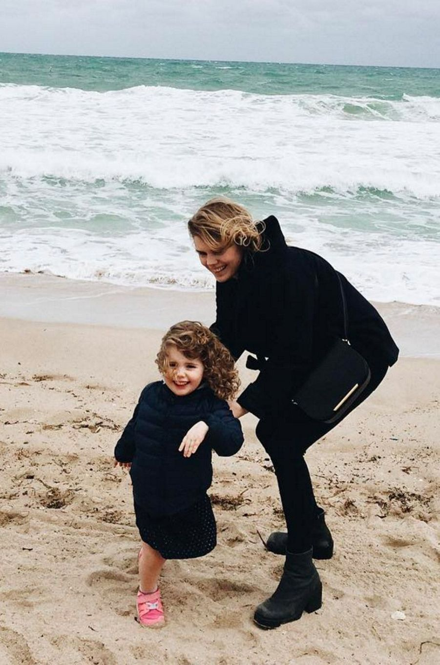 Coeur de Pirate et sa fille Romy