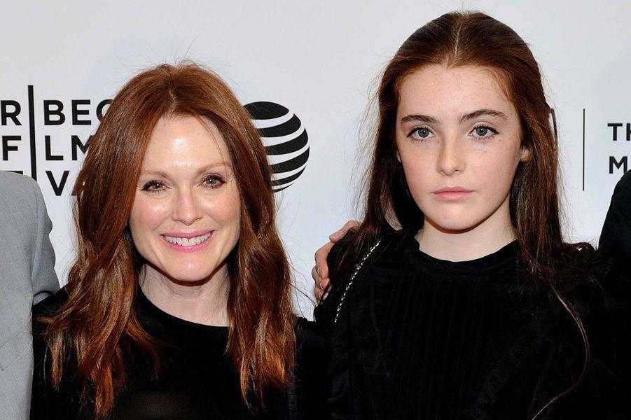 Julianne Moore et sa fille Liv Freundlich