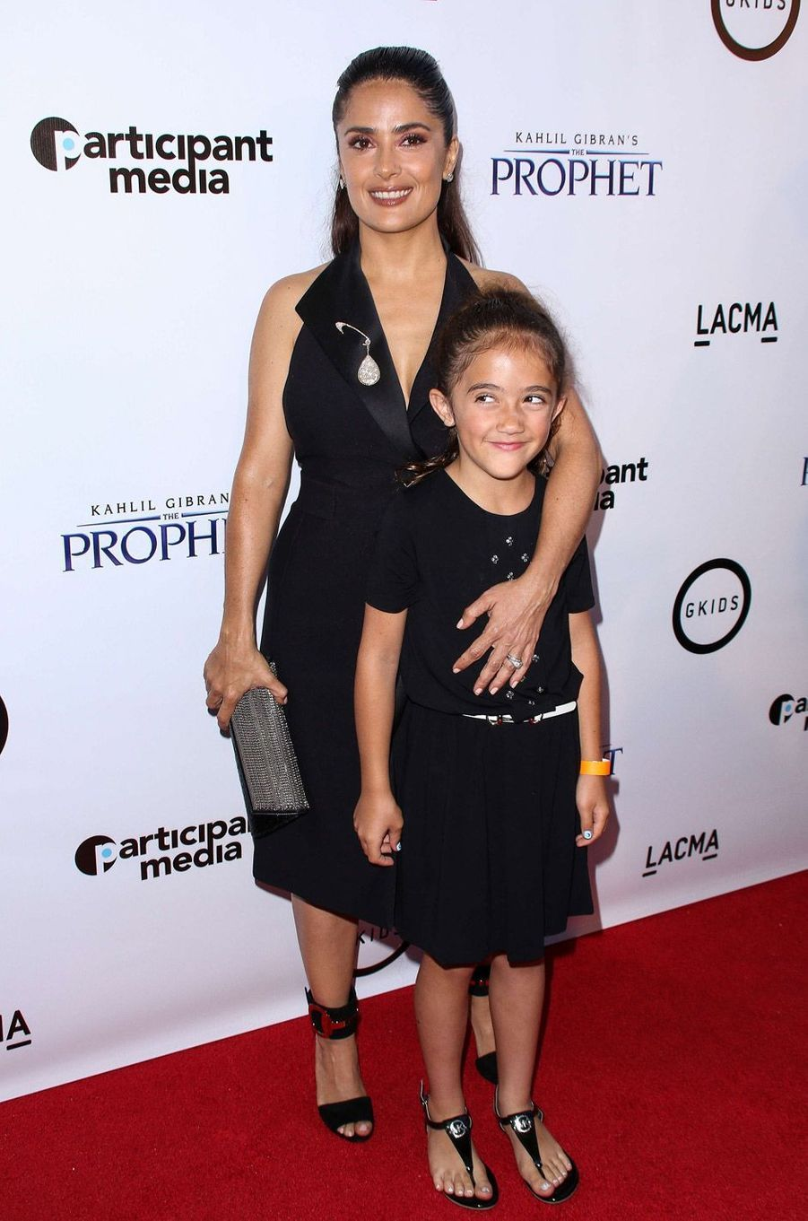 Salma Hayek et sa fille Valentina Pinault