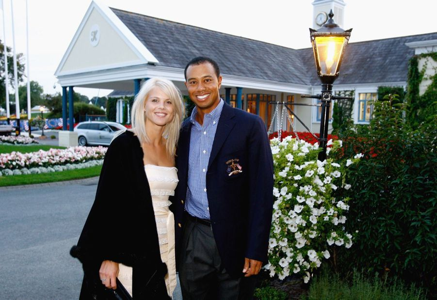 Tiger Woods et son épouse Elin en septembre 2006.