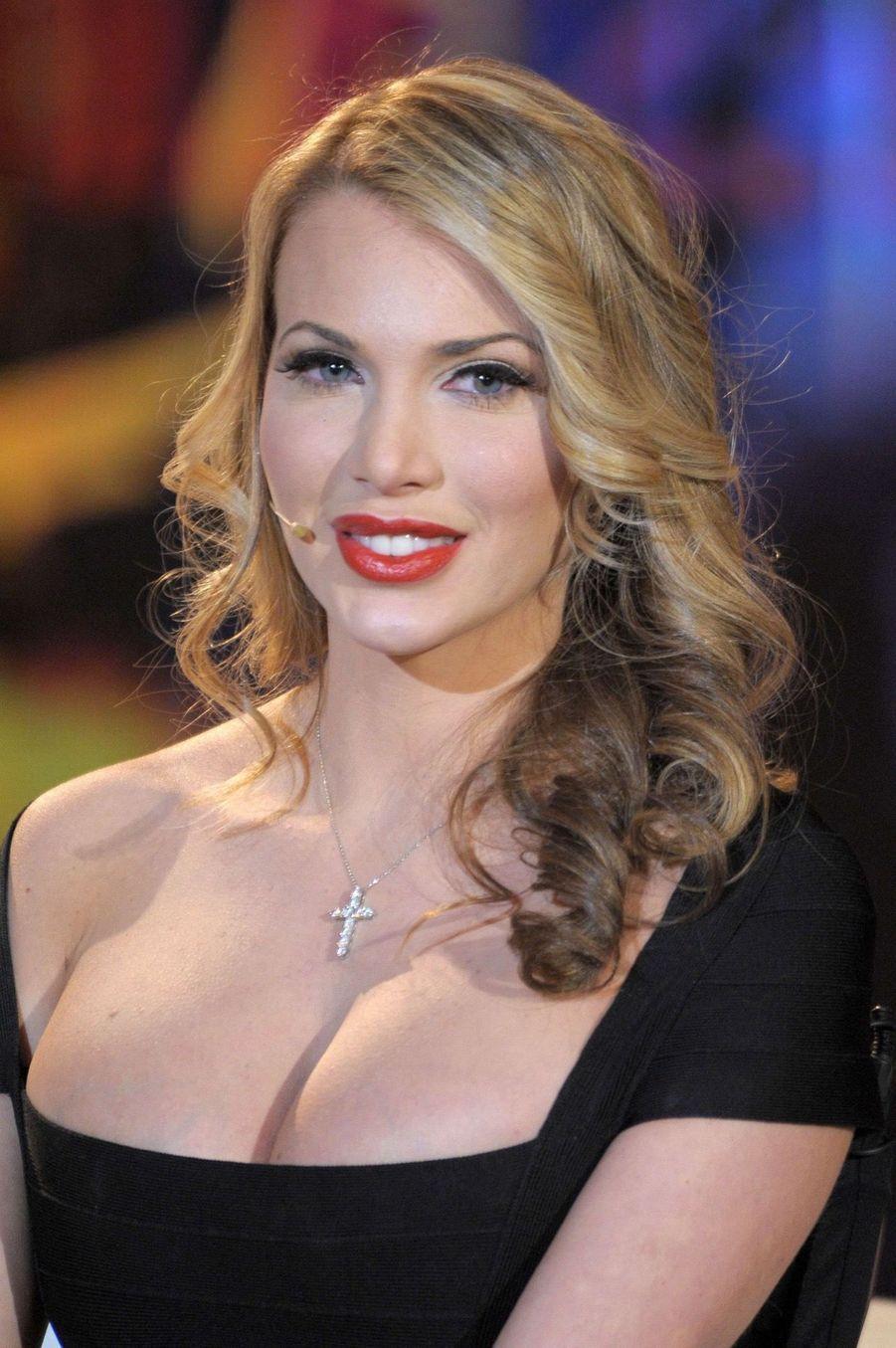 Loredana Jolie, maitresse présumée de Tiger Woods, en janvier 2010.