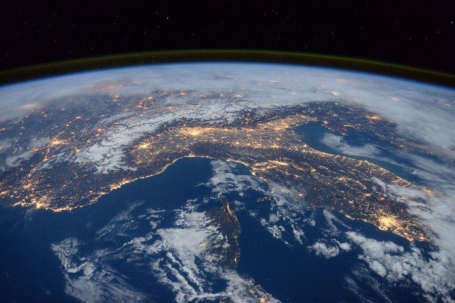L'Italie vue de l'ISS