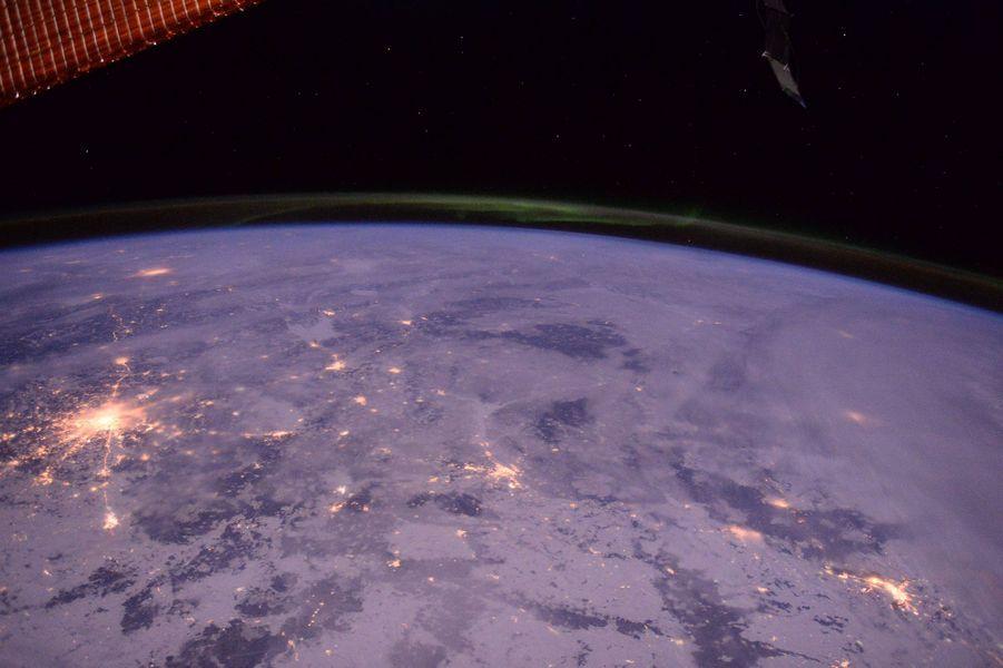 Moscou vue de l'ISS
