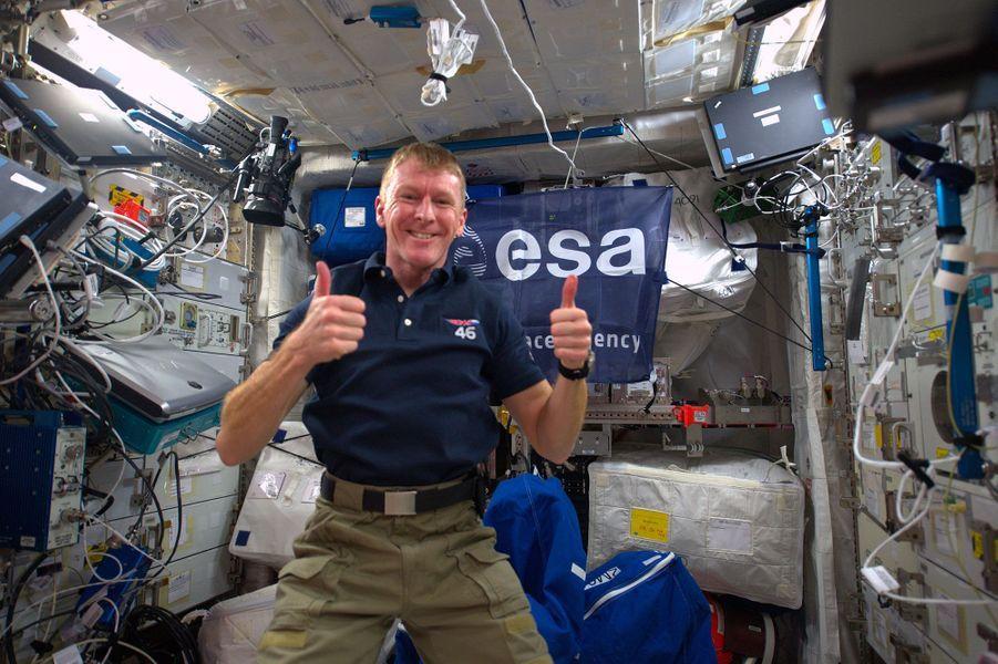 Tim Peake est arrivé dans sur l'ISS