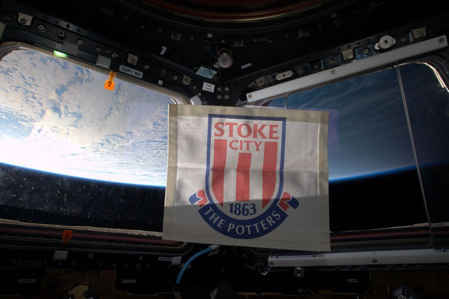 Tim Peake est fan de Stoke City
