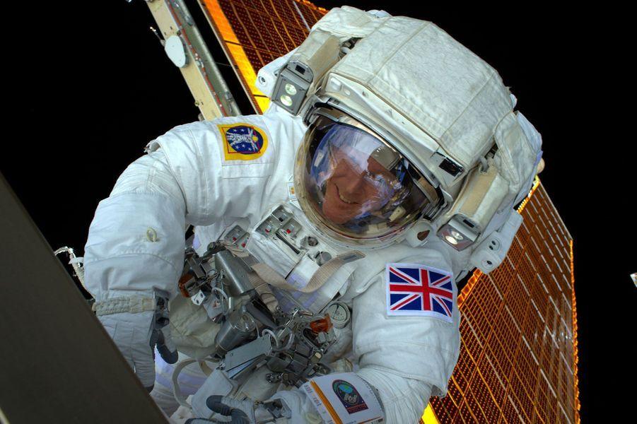 Tim Peake est le premier Britannique à être sorti dans l'espace