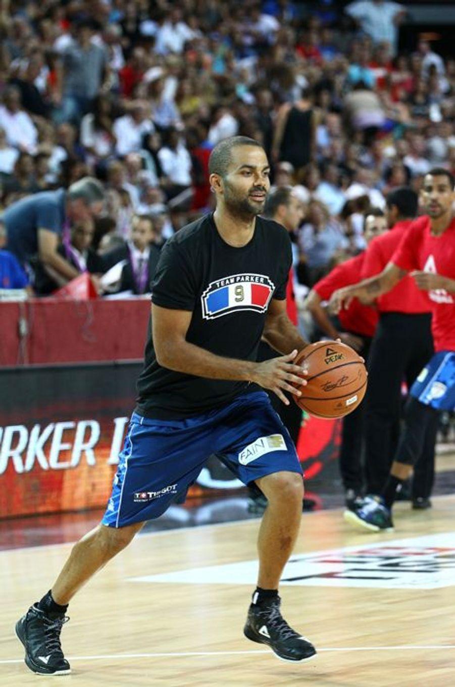 Tony Parker à Montpellier