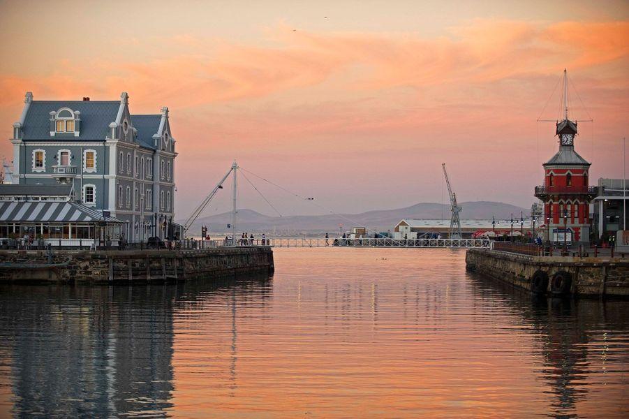 Le port de Cape Town