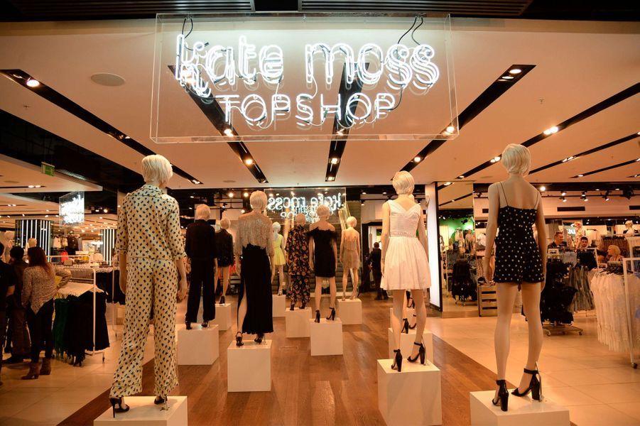 Topshop célèbre le retour de Kate Moss