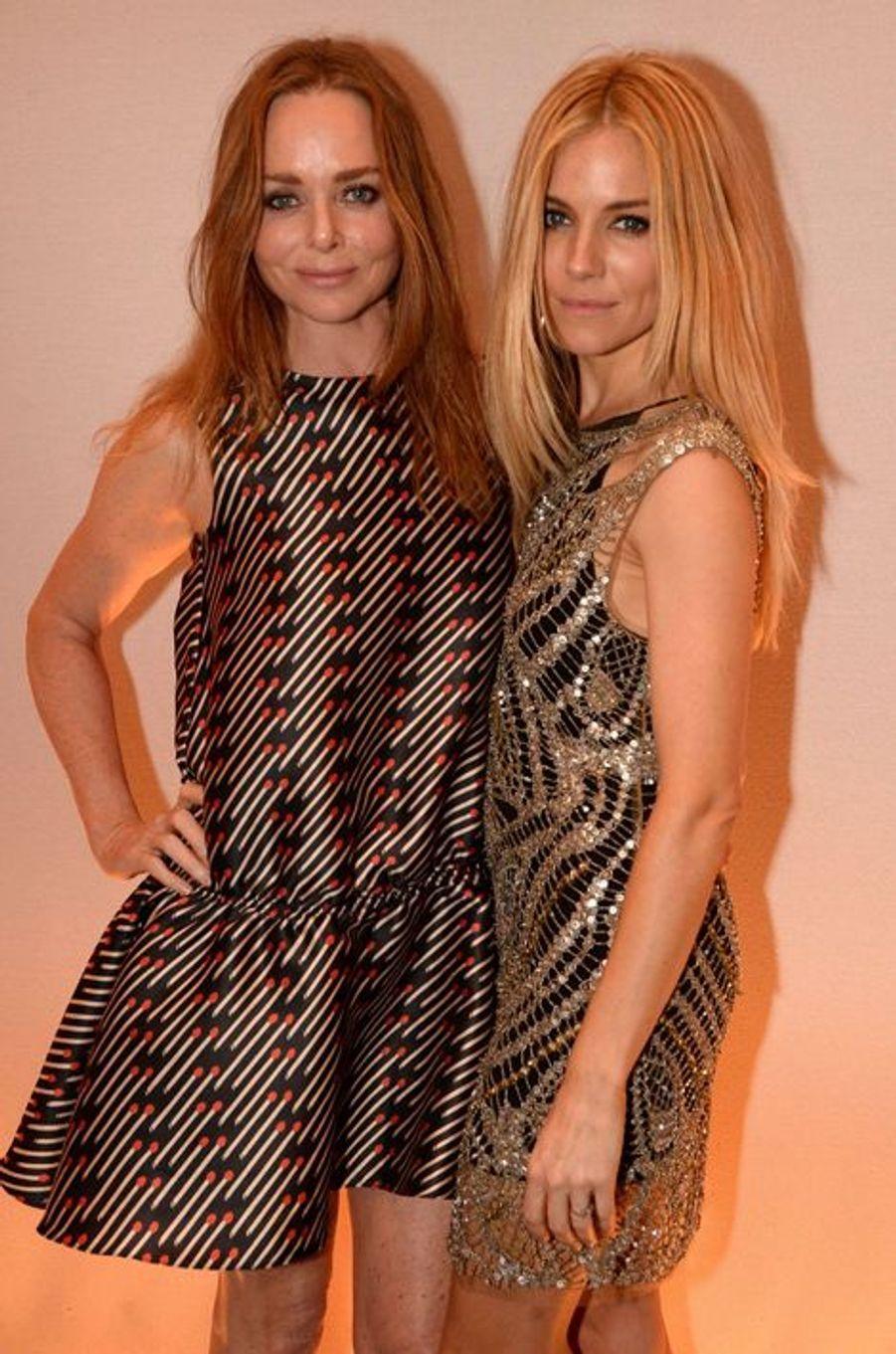Stella McCartney et Sienna Miller